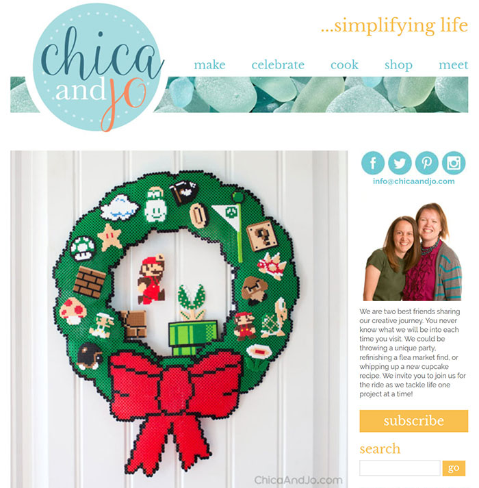 Chica-and-Jo Craft Website