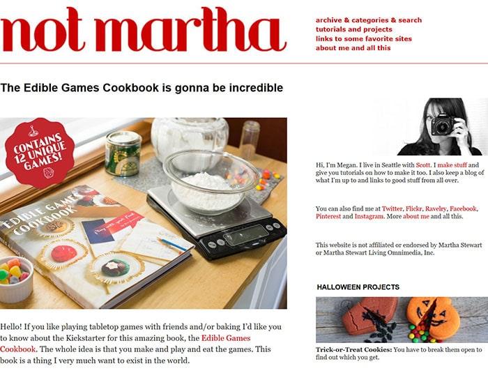 Not-Martha