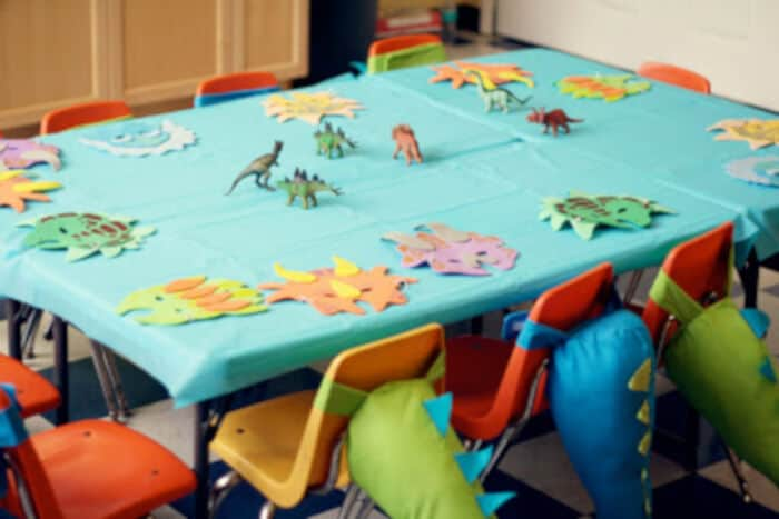 Beans Dino-mite 2nd birthday party by Buggie and Jellybean