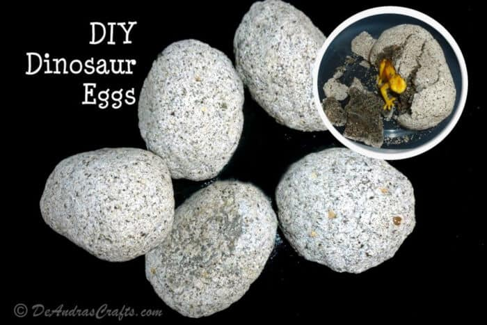 DIY Dinosaur Eggs by Instructables