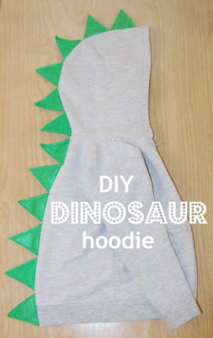DIY Dinosaur Hoodie by Whatever Dee-Dee Wants, Shes Gonna Get It