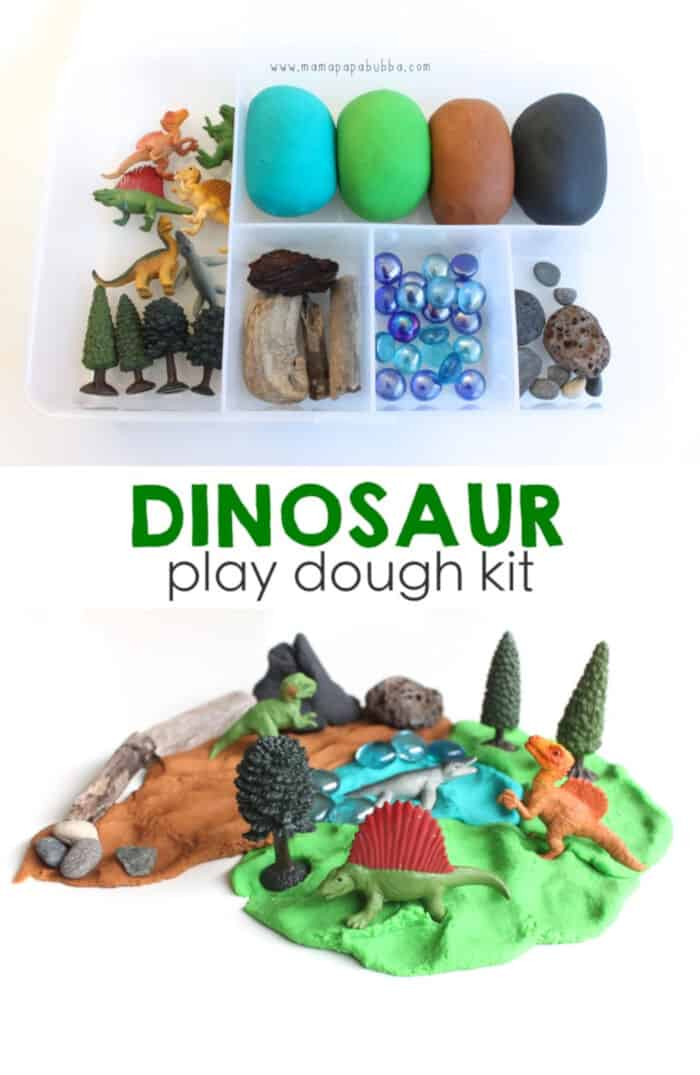 Dinosaur Play Dough Kit by Mama.Papa.Bubba
