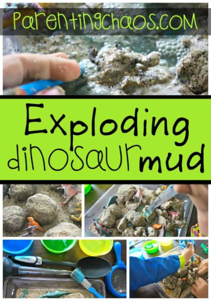 Exploding Dinosaur Mud! by Parenting Chaos