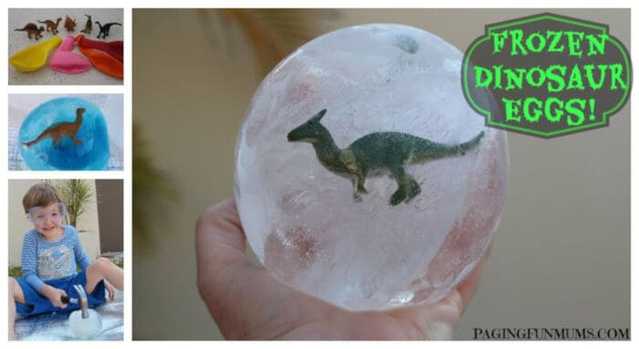 Frozen Dinosaur Eggs by Paging Fun Mums