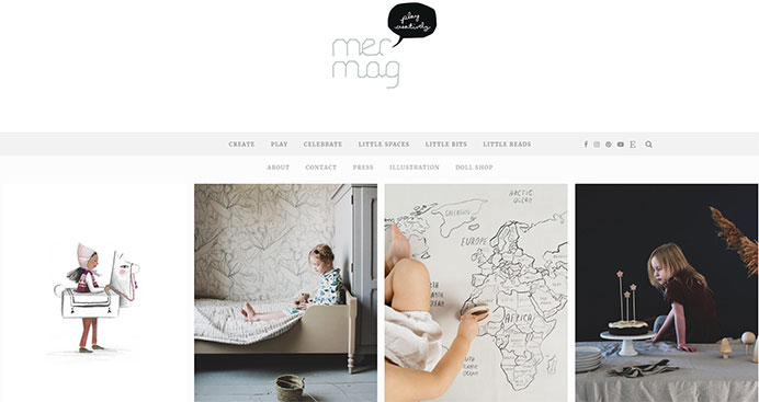 Mer Mag Craft Website