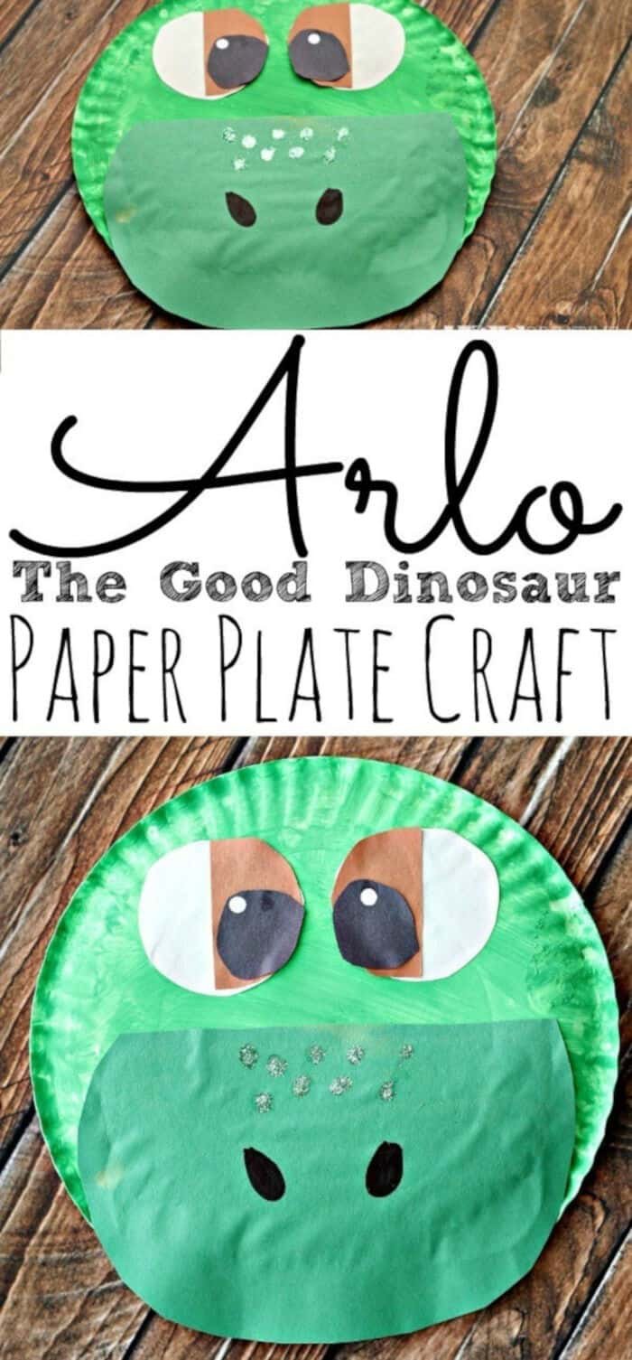 Paper Plate Dinosaur Craft by Todays Creative Ideas