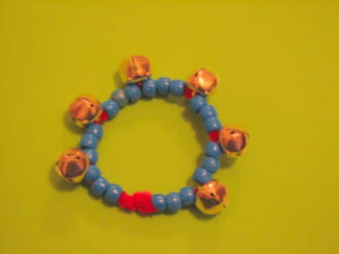 New Years Noise Maker Bracelets by Ramblings of a Crazy Woman