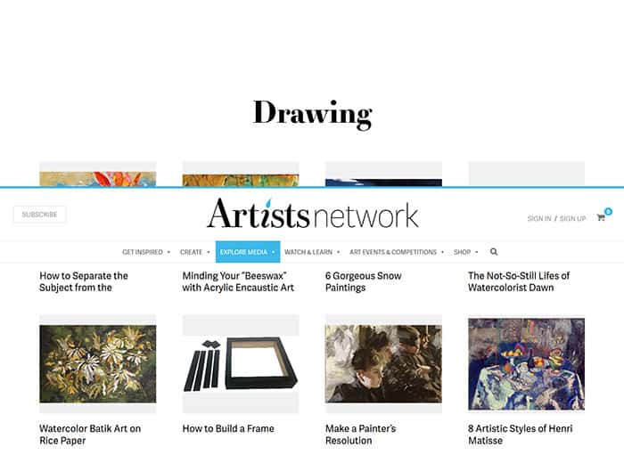 Artists-Network---Drawing