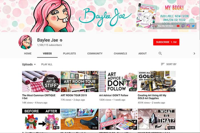 Baylee-Jae-Youtube-Channel