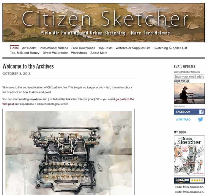 Citizen-Sketcher