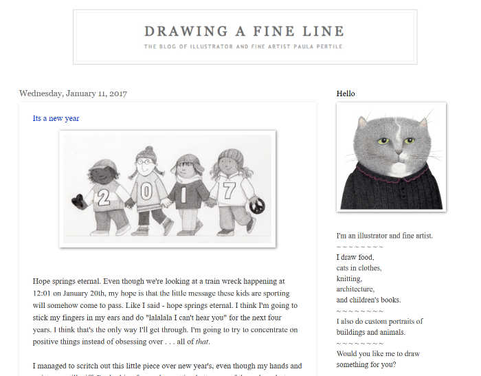 Drawing a Fine Line
