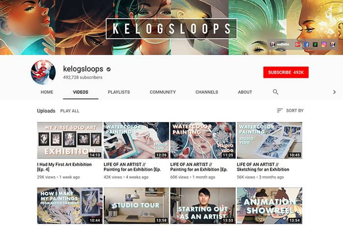 Kelogsloops-Drawing-Youtube-Channel