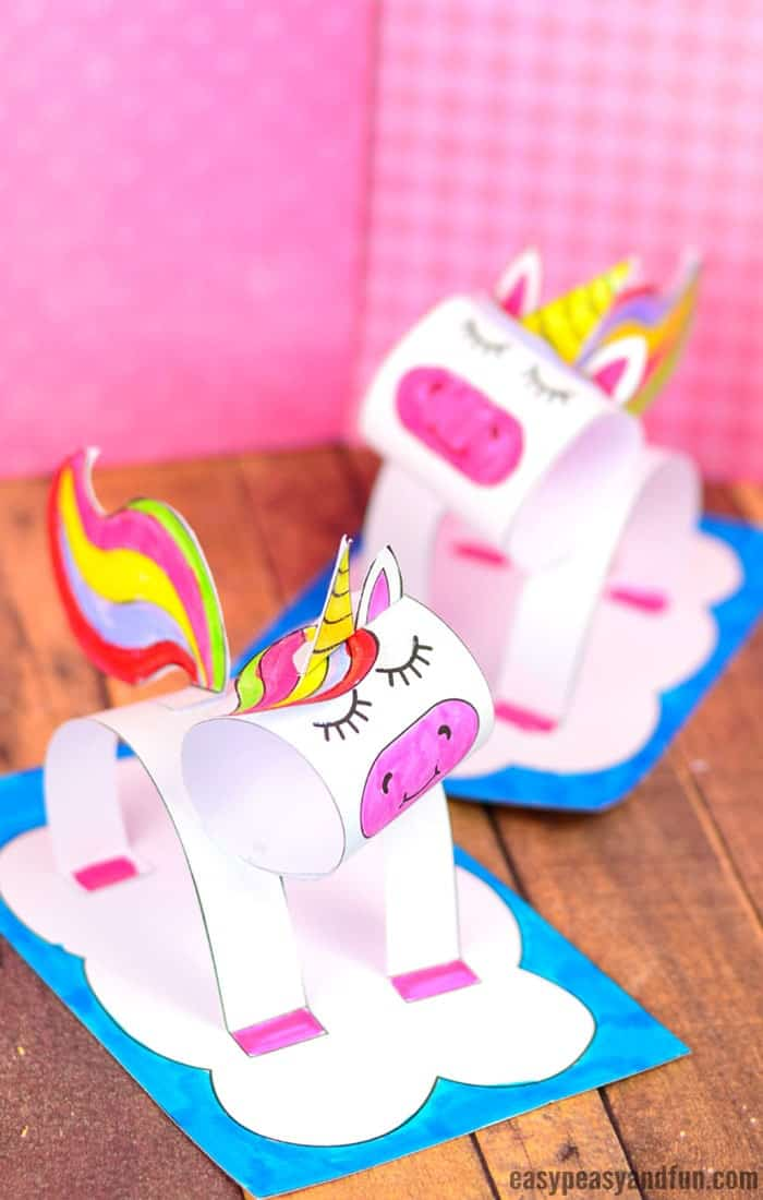 3D-Construction-Paper-Unicorn-Craft-For-Kids-By-Easy-Peasy-and-Fun