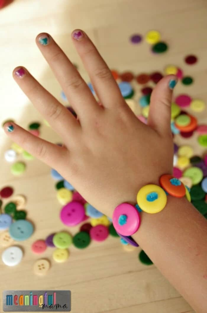 Button Bracelets by Meaningful Mama