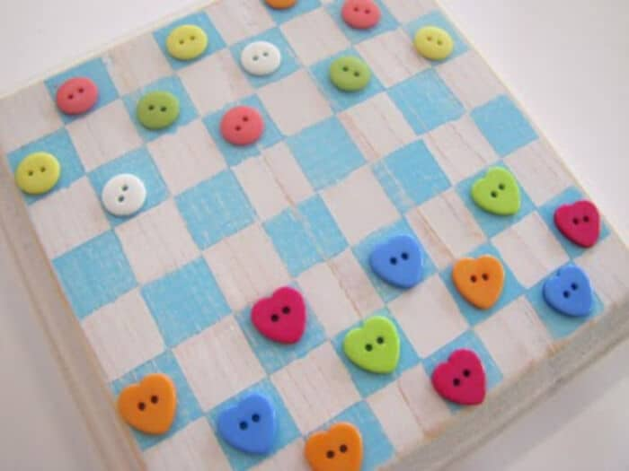 Button Checker Board by Little Miss Momma