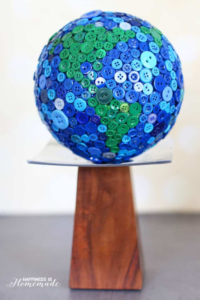 Button Globe by Happiness Is Homemade