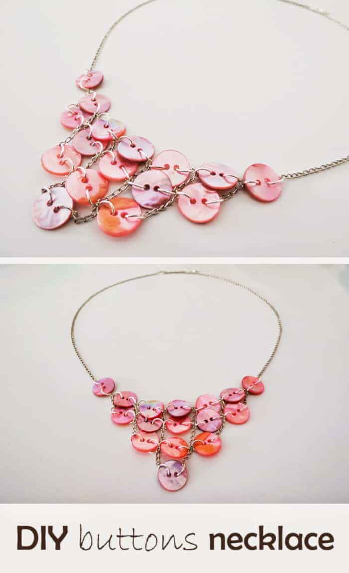 Button Necklace by Ohoh Deco