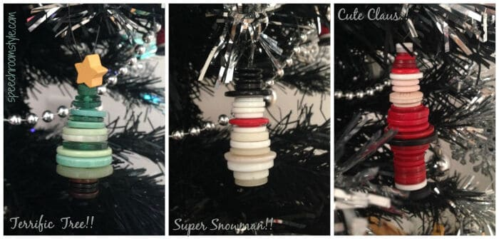 Button Ornaments by Speech Room Style