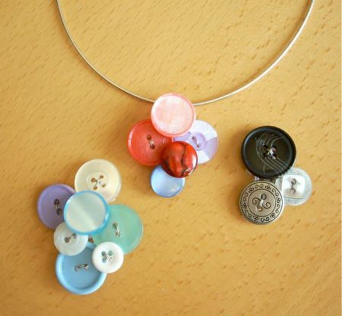 Button Pendant by Think Crafts