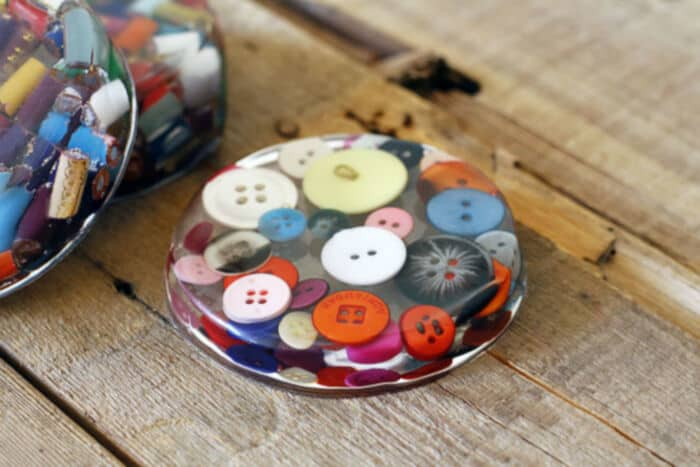 Cast Resin Paperweights and Coasters by Lil Blue Boo