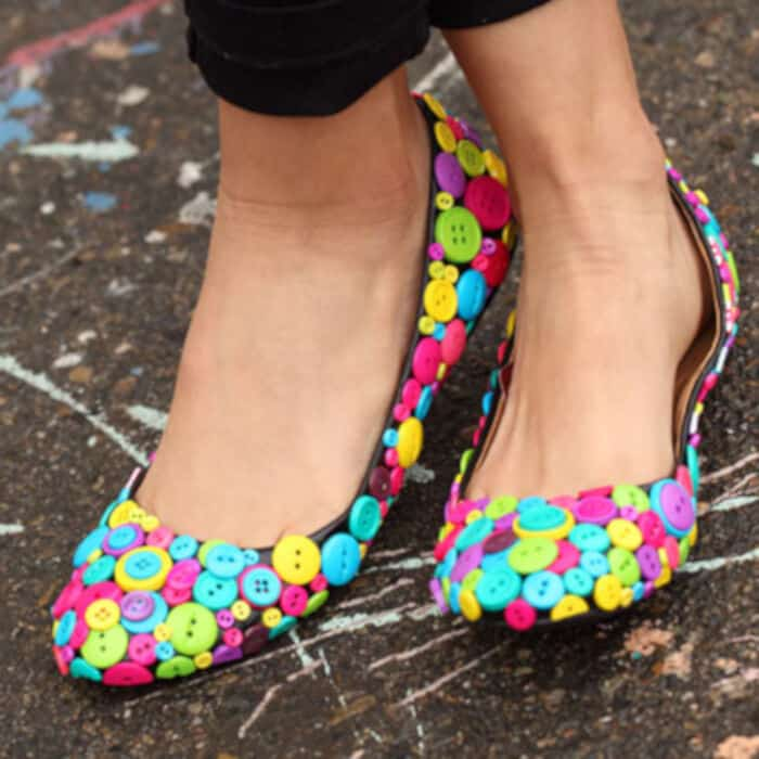 Cute as a Button Shoes by I Love To Create