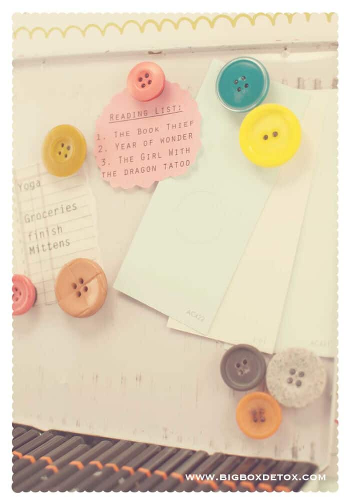 Easy Button Magnets by Big Box Detox