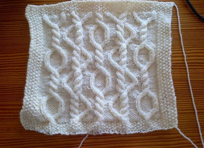 Kates Knits 97 Knitted Circle Change for the St Patricks Day Afghan