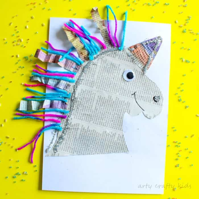 Mixed-Media-Paper-Unicorn-Craft-By-Arty-Crafty-Kids