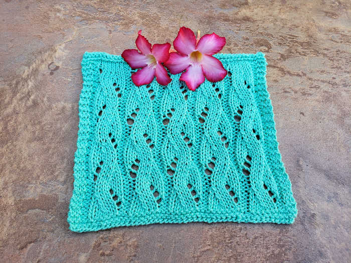 Mock Lace Cable Cloth