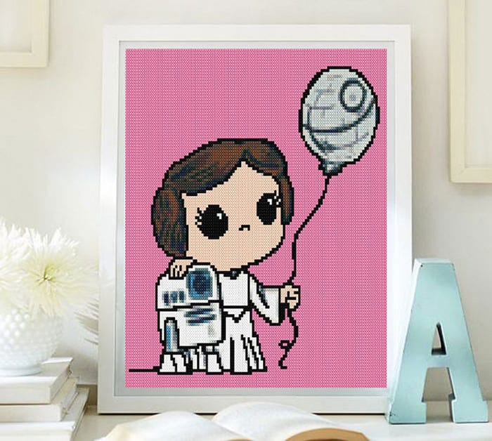 Princess-Leia-Crossstitch-Pattern-by-Lenyboop-on-Etsy
