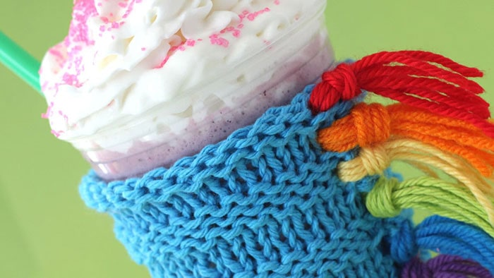 Unicorn-Cup-Cozy-by-Studio-Knits