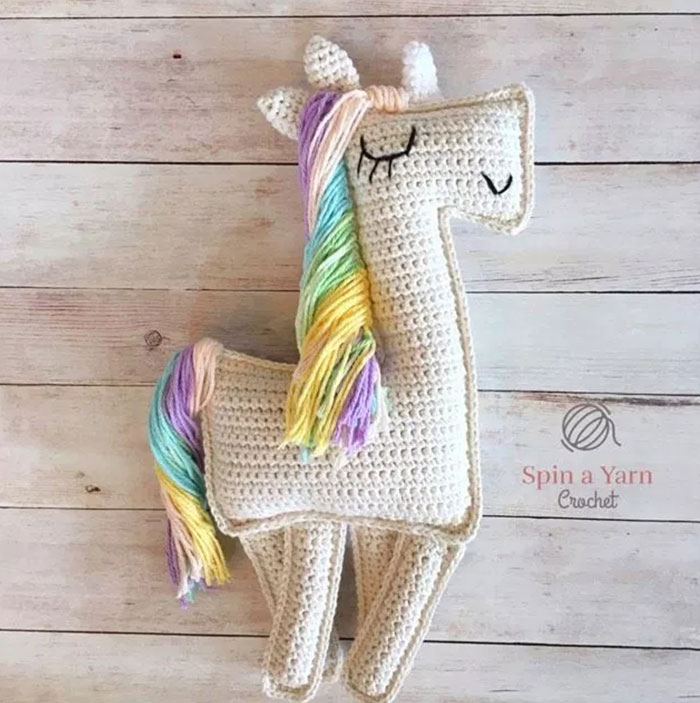 Unicorn-Ragdoll-By-Spin-A-Yarn-Crochet