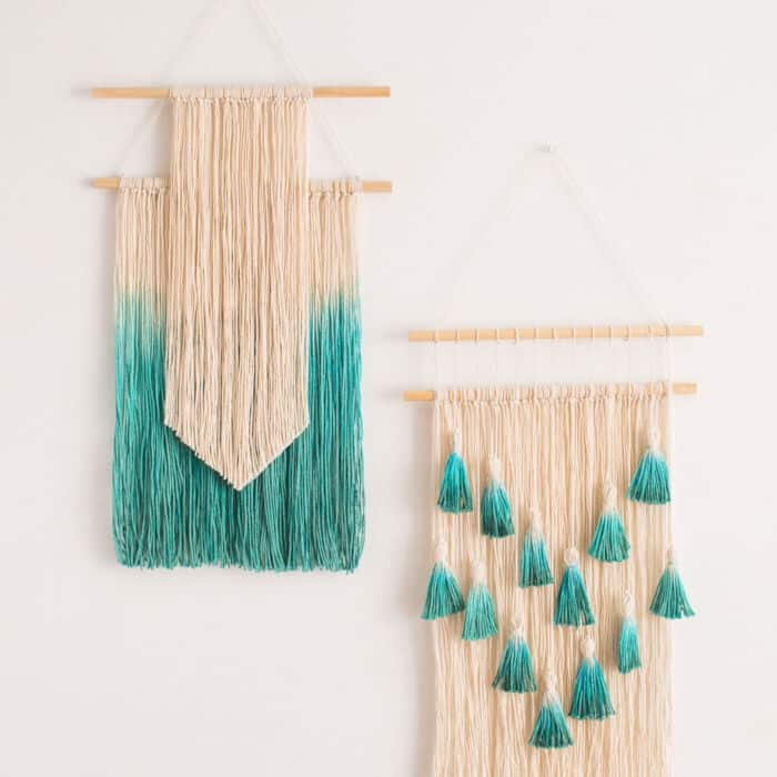 2 Simple Ways to Make Wall Art With String by Brit + Co