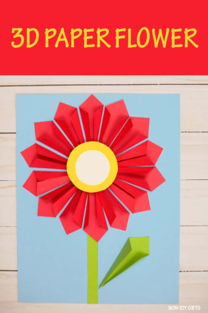 3D Paper Flower by Non-Toy Gifts