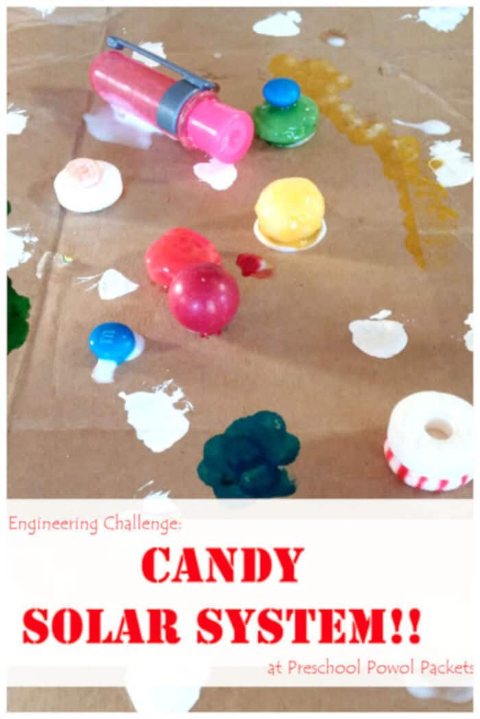 A Candy Solar System by Preschool Powol Jackets