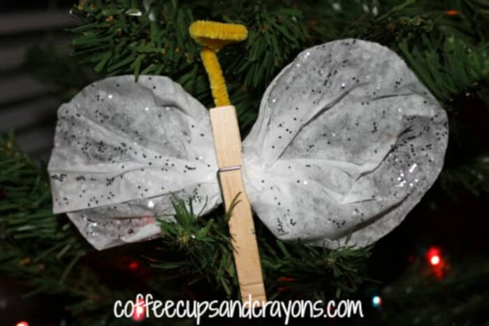 Angel Ornament and Picture Book by Coffee Cups and Crayons