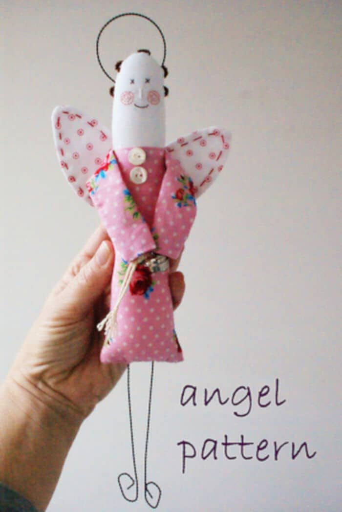 Angel Pattern by Dutch Blue