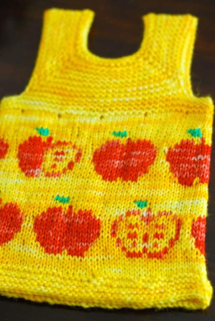 Apple Fair Isle bu Vintage Nettles