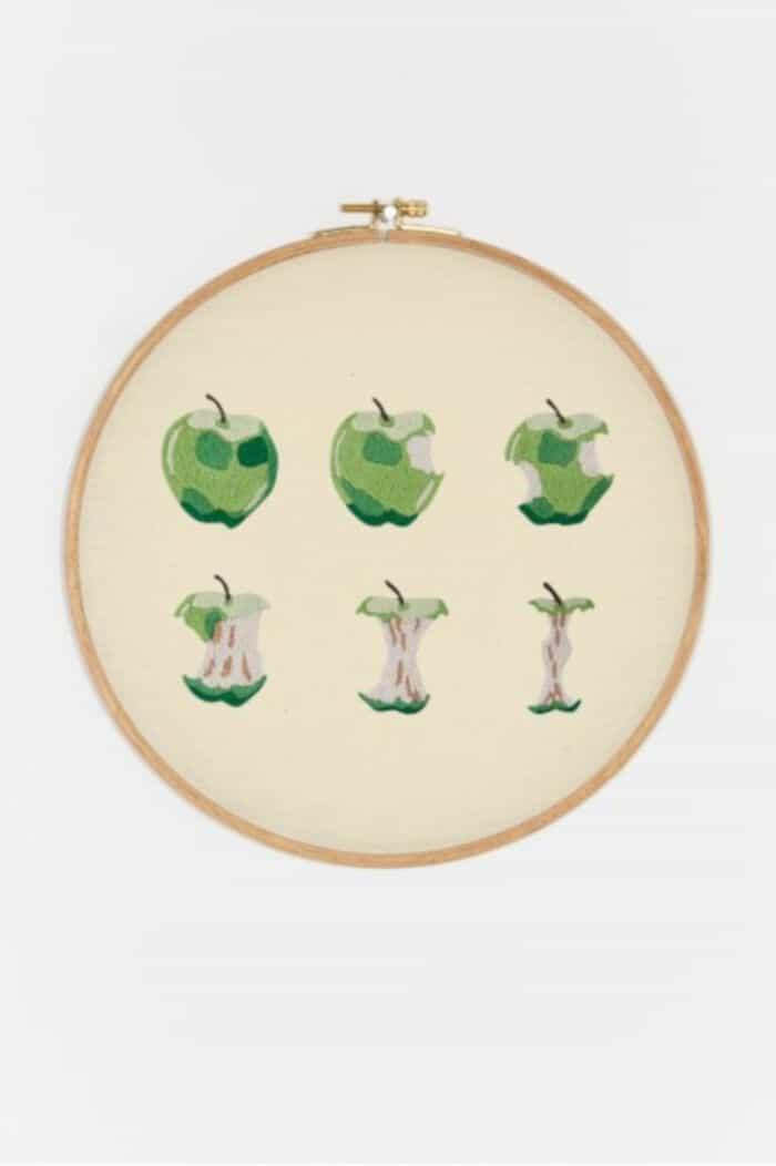 Apple Pattern by DMC