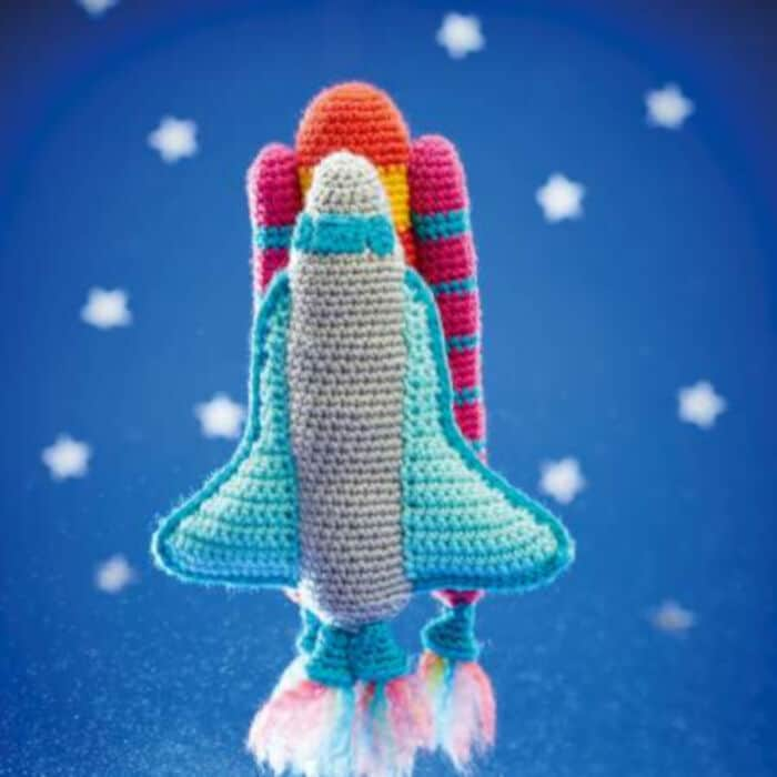Arlos Spaceship & Rocket by Top Crochet Patterns