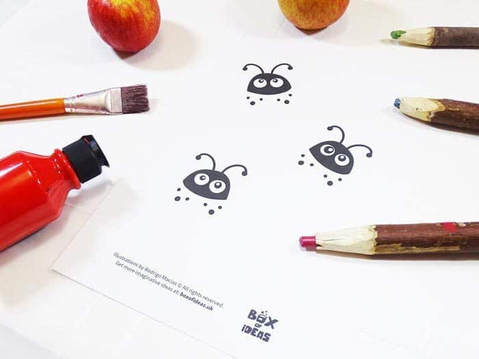 Bugs and Nature Simple Stamping Art by Box of Ideas