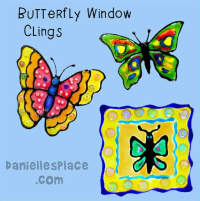 Butterfly, Caterpillar, and Inchworm Crafts For Kids by Danielles Place
