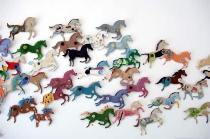 Cardboard Stampede by Ann Wood Handmade