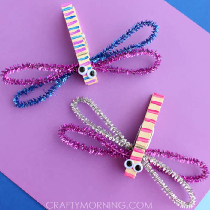 Clothespin Dragonflies by Crafty Morning