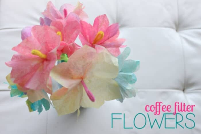 Coffee Filter Flowers by Mama.Papa.Bubba