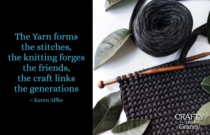 Craft Quote by Karen Alfke