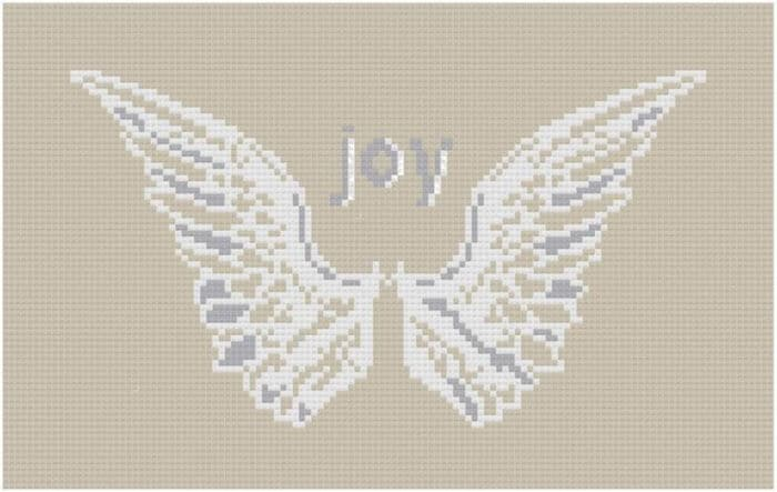 Cross Stitch Pattern Angel Wings by Etsy