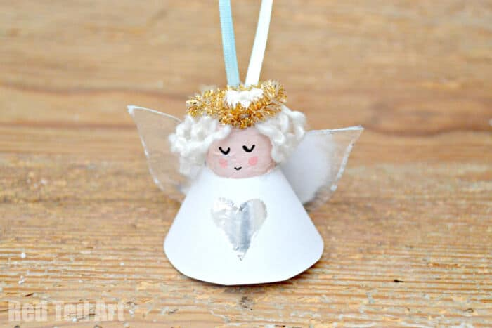Cute Cork Angel Craft by Party Delights