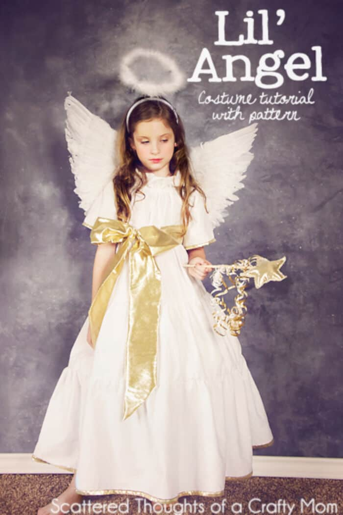 DIY Angel Costume by Scattered Thoughts of a Crafty Mom