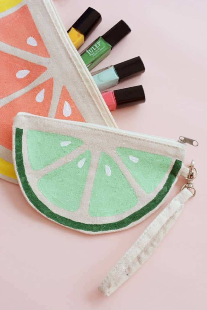 DIY Citrus Slice Bags by Oleander + Palm